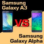Jaki smartfon kupić – Samsung Galaxy A3 czy Galaxy Alpha?