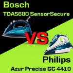 Jakie żelazko wybrać? Philips Azur Precise GC 4410 czy Bosch TDA5680 SensorSecure?