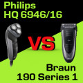 Philips HQ 6946/16 czy Braun 190 Series 1
