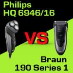 Jaką golarkę kupić – Philips HQ 6946/16 czy Braun 190 Series 1?