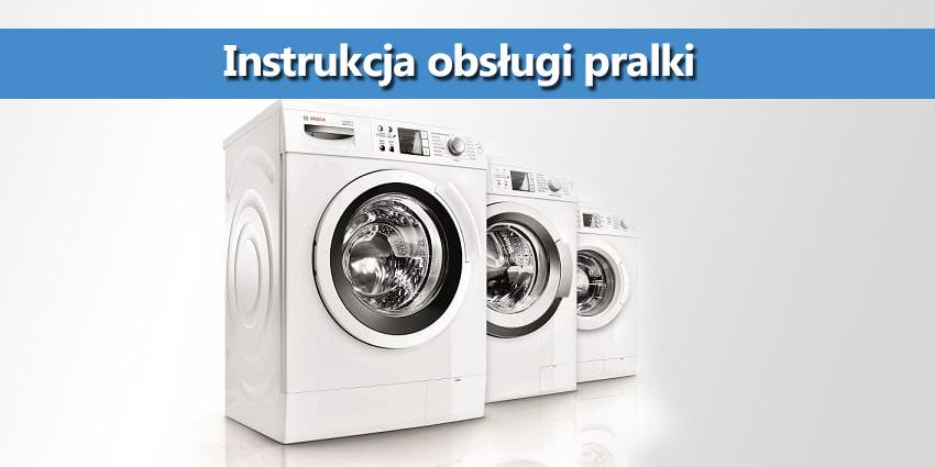 Instrukcja obsługi pralki