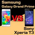 Jaki smartfon wybrać – Samsung Galaxy Grand Prime czy Sony Xperia T3?