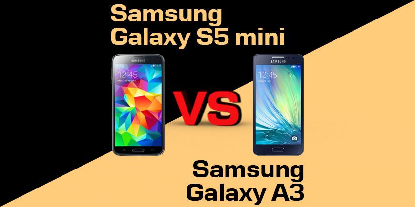 Samsung Galaxy S5 mini czy Galaxy A3