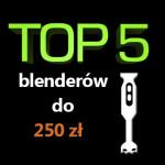 Jaki blender do 250 zł? Top 5 najlepszych blenderów!