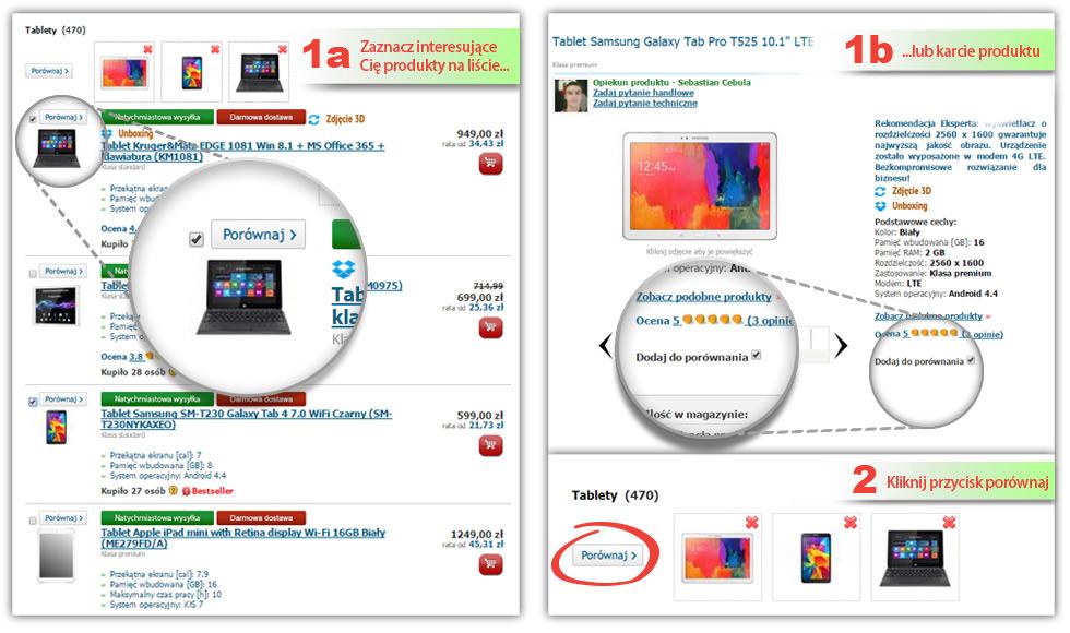 20fb4bf07453f6 Porównanie tabletów – jak działa porównywarka tabletów?
