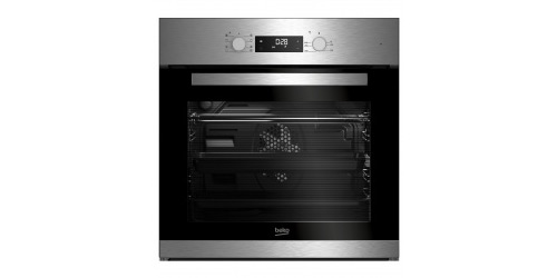 beko bim22300x backofen elektro a 66 l hei luft mit ringheizk rper 3d kochen simple. Black Bedroom Furniture Sets. Home Design Ideas
