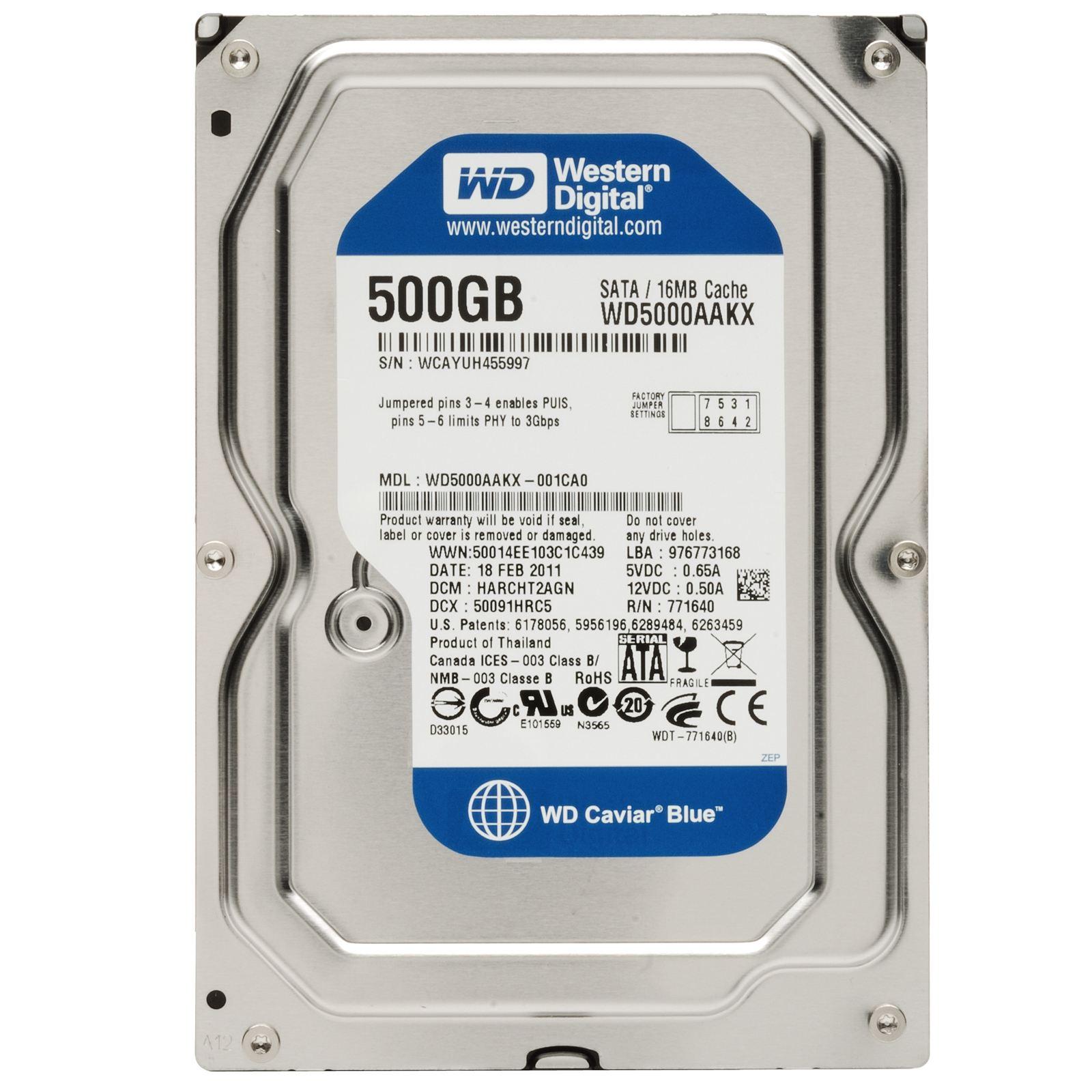 Dysk twardy 500 GB