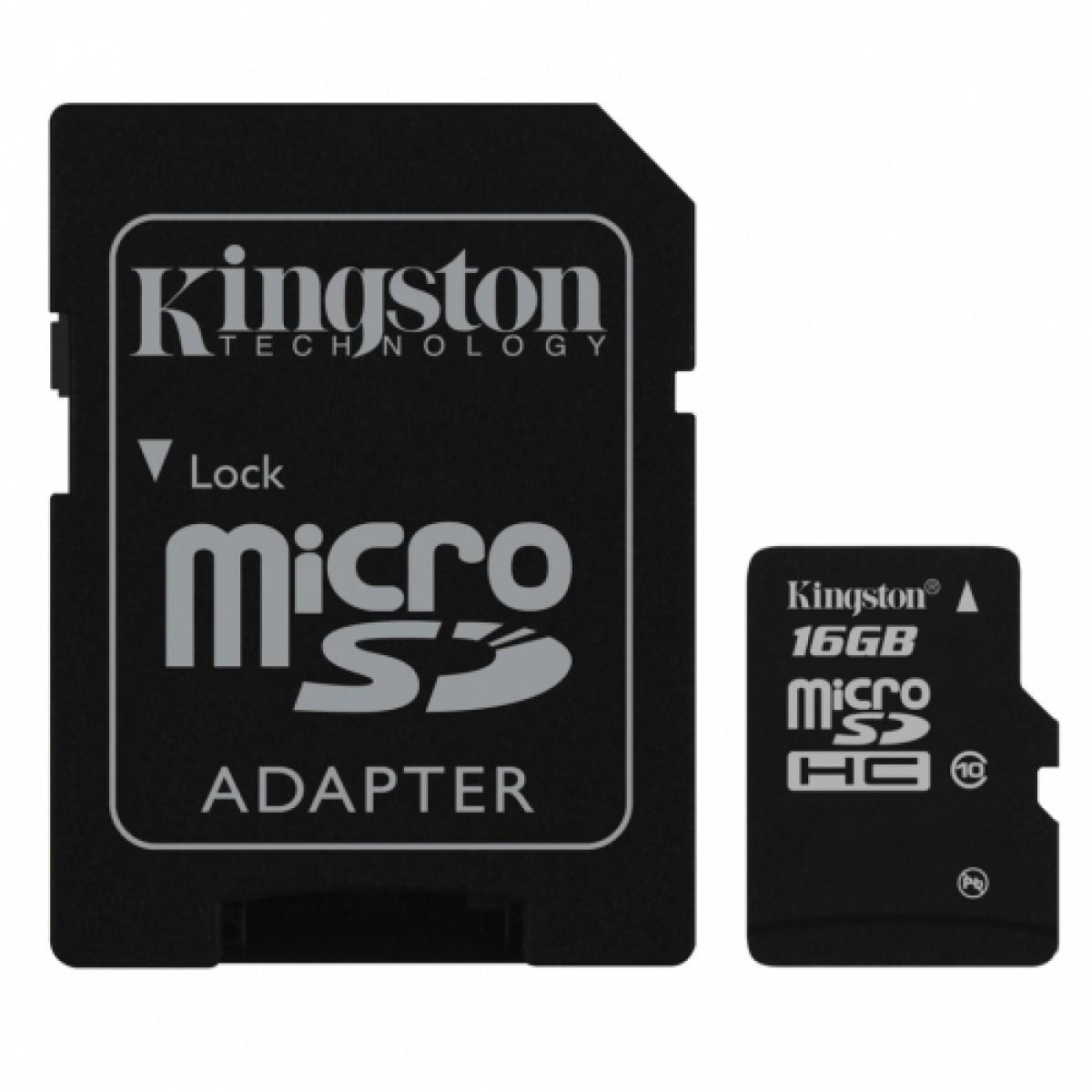 Karta microSD 16 GB