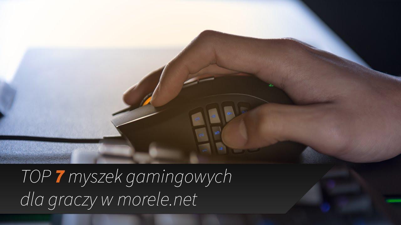 Najpopularniejsze myszki gamingowe dla graczy