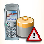 Bateria do Nokia 6100. Akumulator do telefonu.