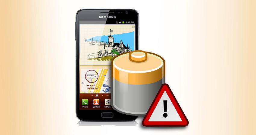 Samsung GT-N7000 GALAXY Note bateria