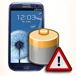 Bateria do Samsung Galaxy S3. Akumulator do telefonu.