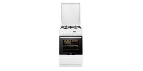 Kuchnia Gazowo Elektryczna Electrolux Ekk 54553ow