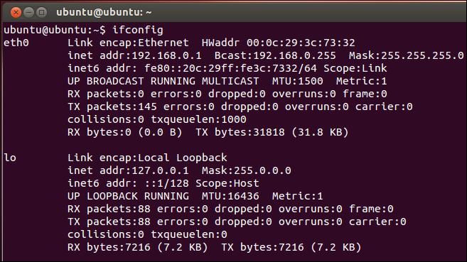 jak sprawdzić ip linux
