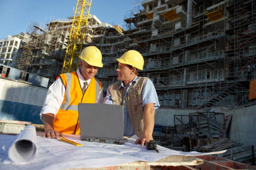 laptop na budowę