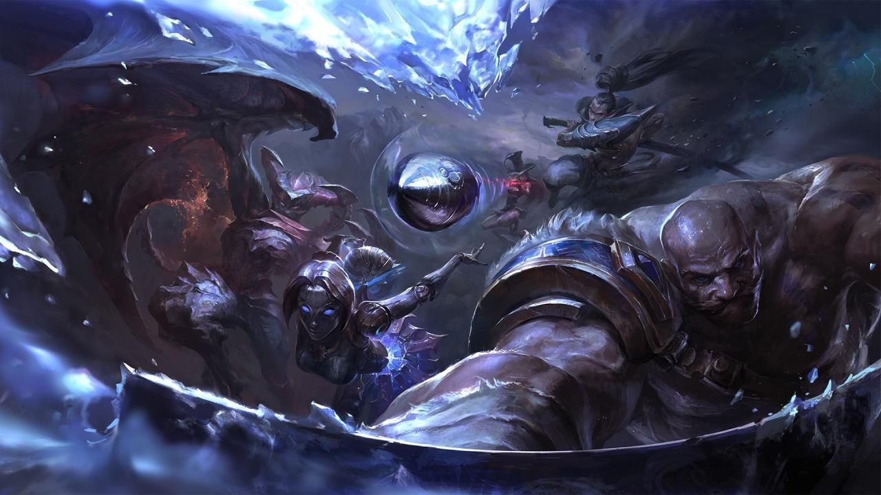 procesor league of legends