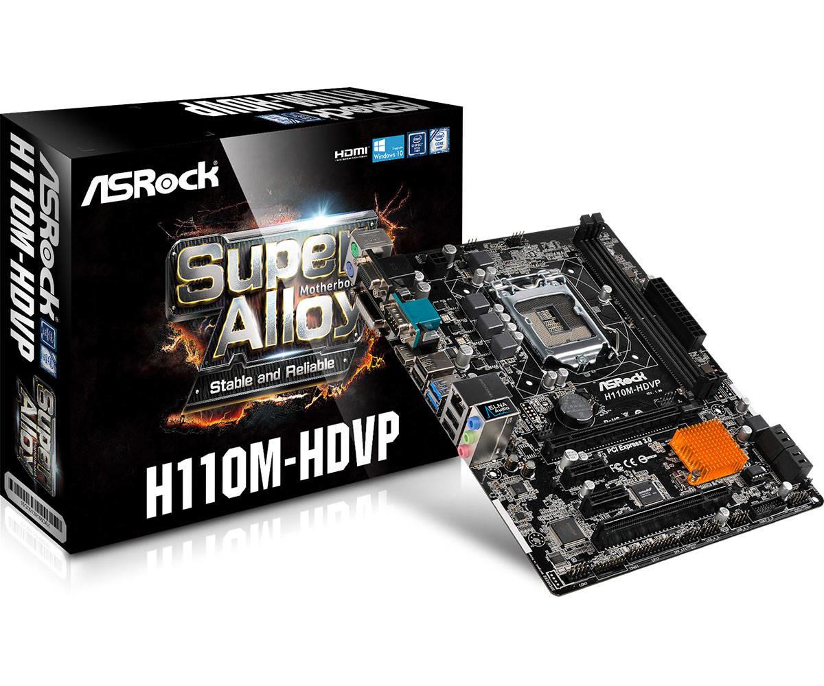 ASRock H110M-HDVP specyfikacja