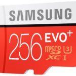 Karta pamięci Samsung microSD EVO Plus 256 GB – specyfikacja, cena
