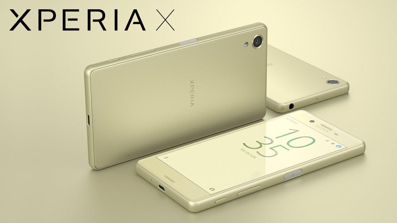 Sony Xperia X specyfikacja