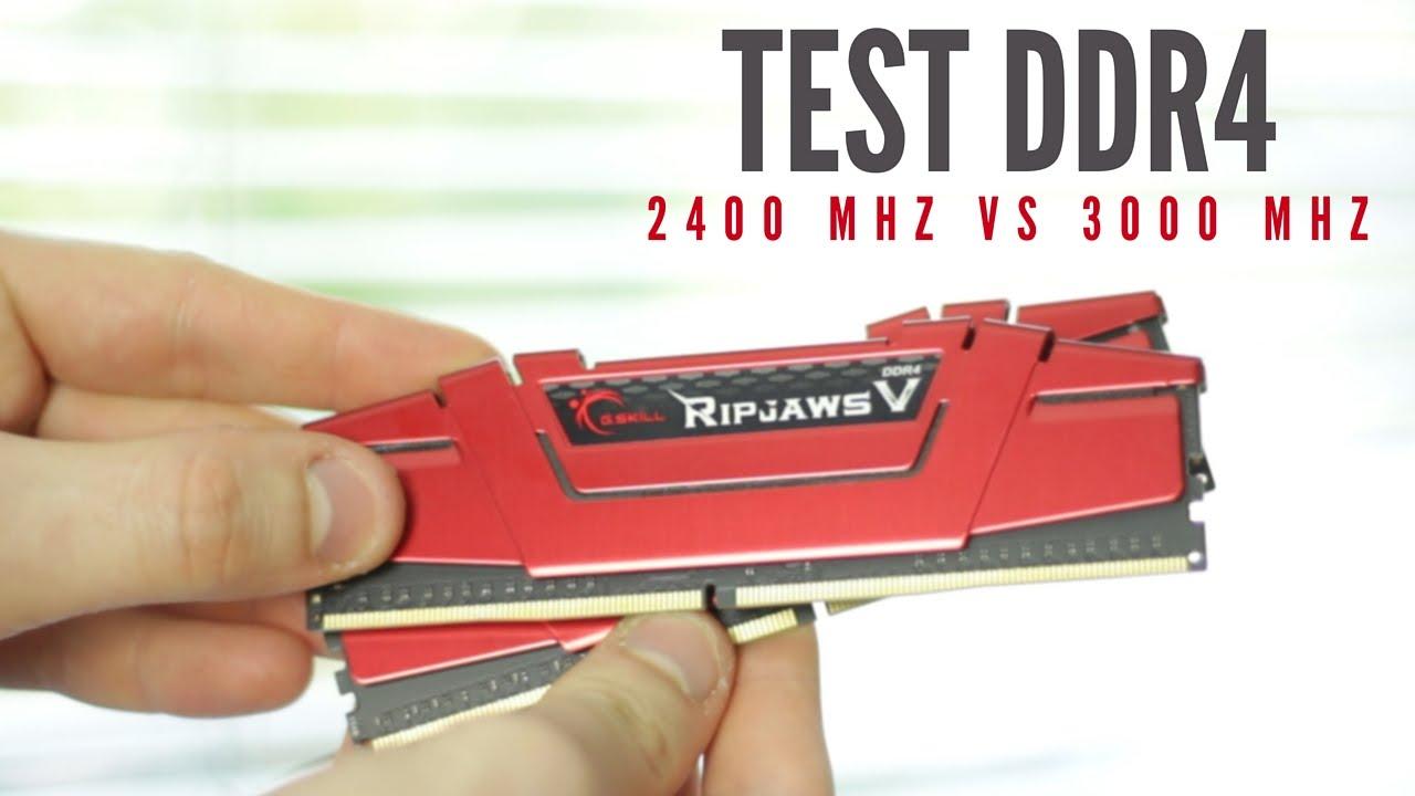 DDR4 2400 czy 3000 MHz