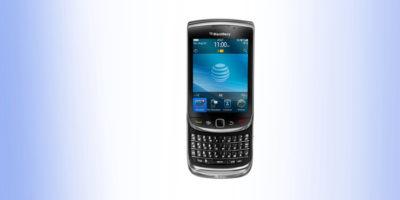 BlackBerry 9800 folia