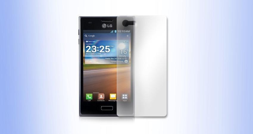LG L5 E610 folia