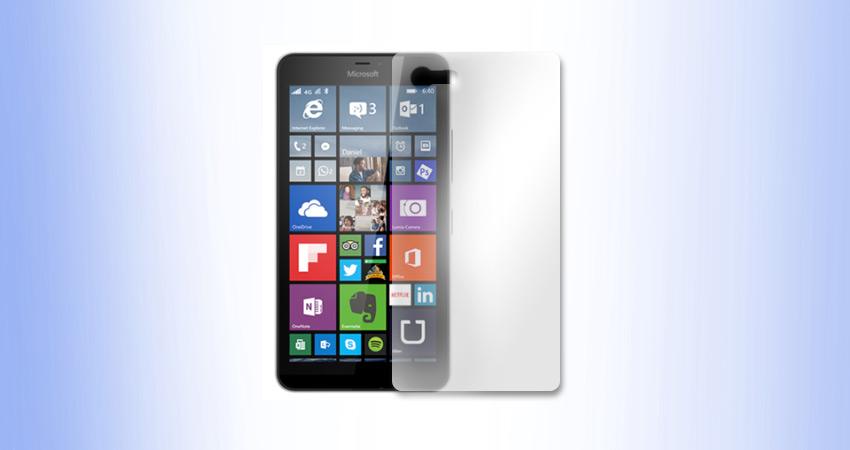 Microsoft Lumia 640 XL folia