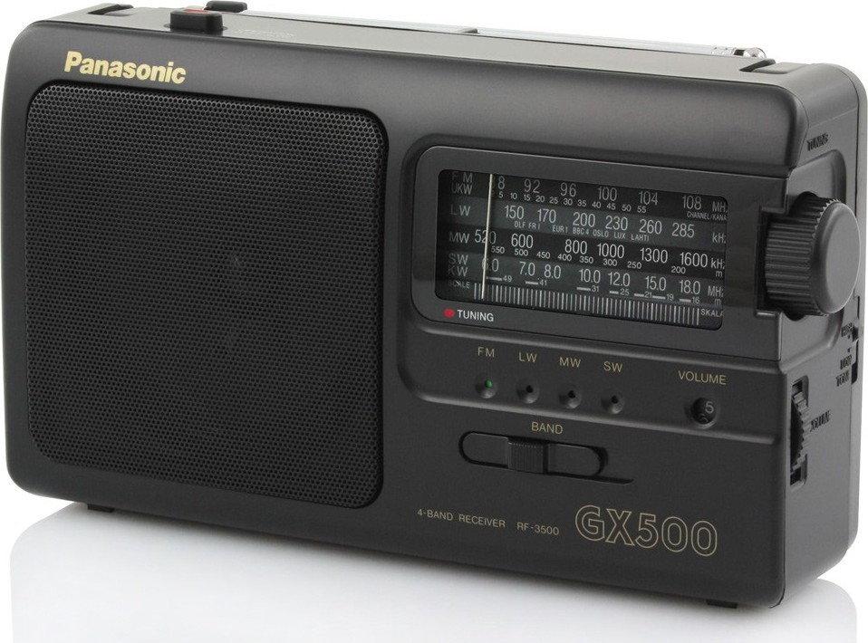 radio na baterię
