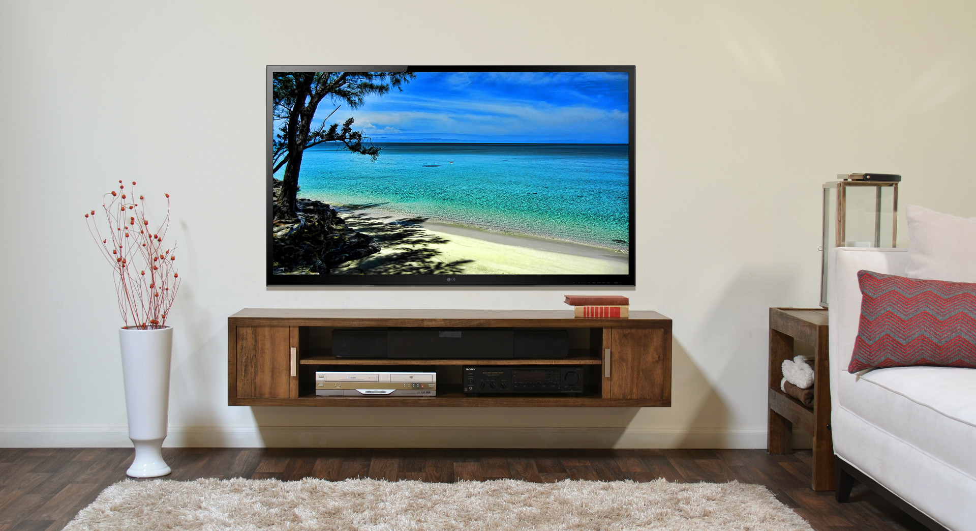 wysokość montażu tv