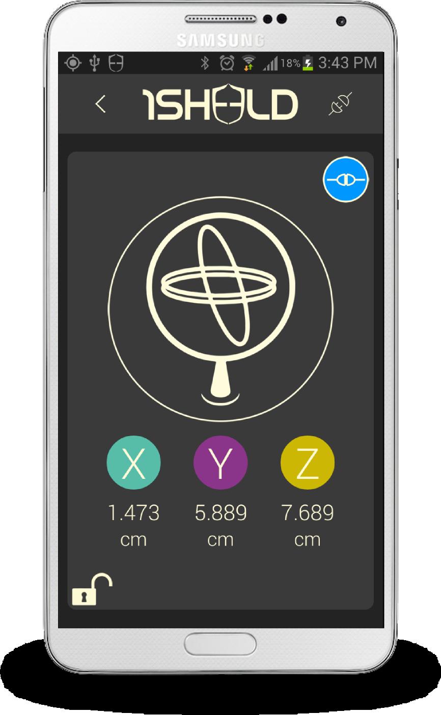 żyroskop w telefonie