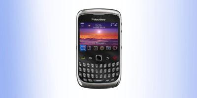 BlackBerry 9300 folia