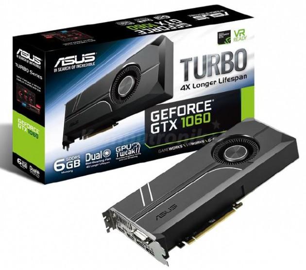 ASUS GeForce GTX 1060 Turbo