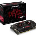 PowerColor Radeon RX 470 Red Devil / Red Dragon – specyfikacja techniczna