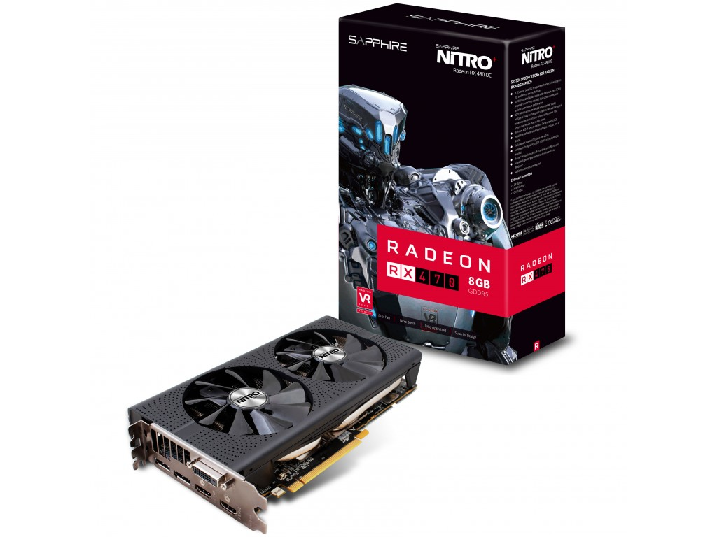 Sapphire Radeon RX 470 Nitro+ 8 G