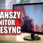 Najtańszy monitor z FreeSync – AOC G2260VWQ6 recenzja