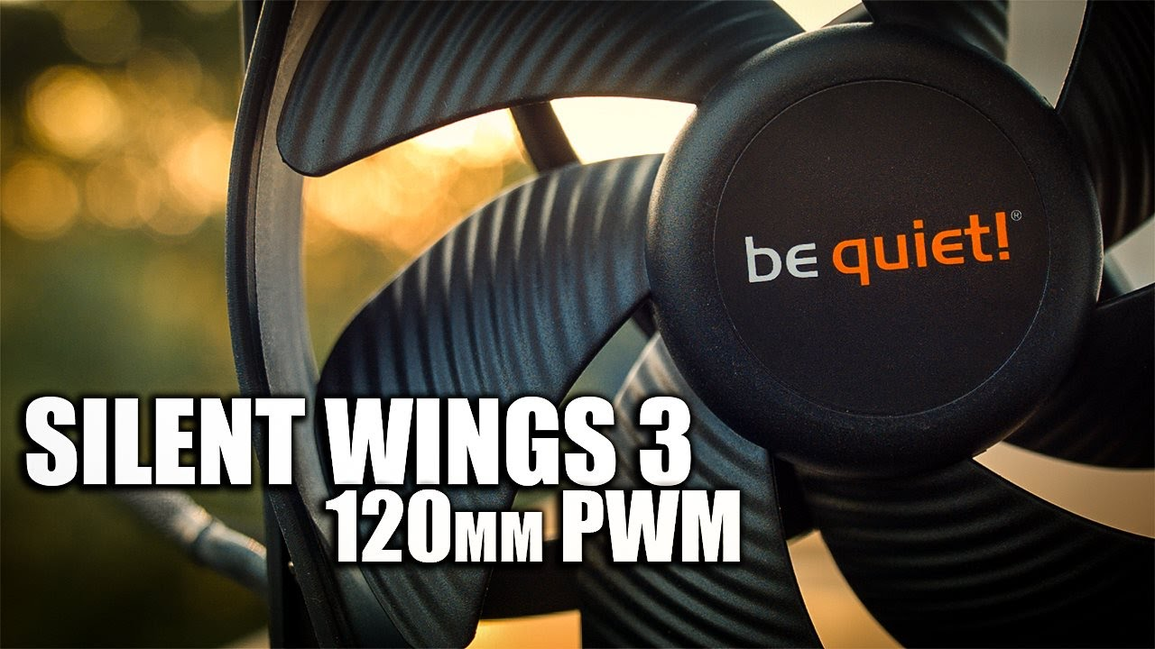 be quiet! Silent Wings 3 120mm PWM