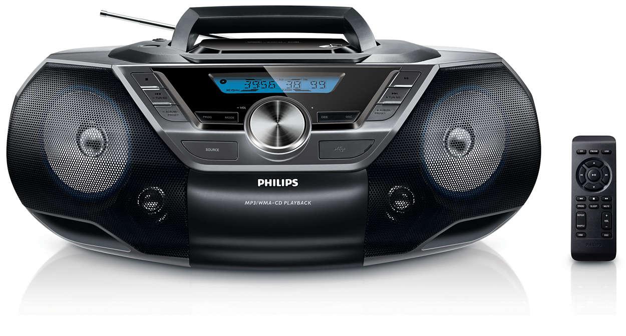 radioodtwarzacz z Bluetooth