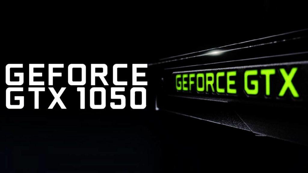 GeForce GTX 1050 specyfikacja