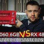 RX 480 8GB vs GTX 1060 6GB – DOGRYWKA!