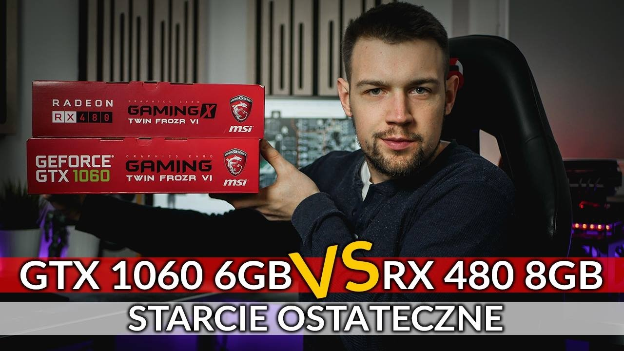 RX 480 8GB vs GTX 1060 6GB