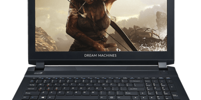 Laptop Dream machines do gier