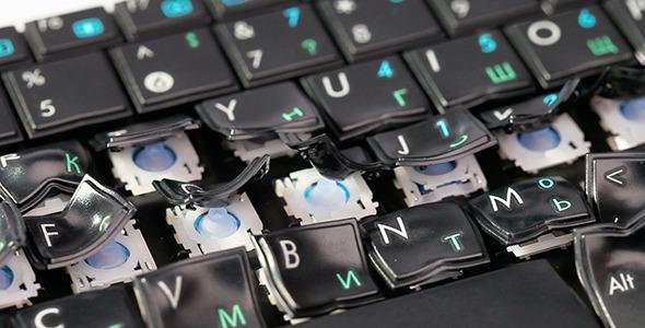 Nie działa klawiatura w laptopie