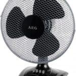 AEG Wiatrak biurkowy 30cm Czarny (VL 5529) instrukcja obsługi