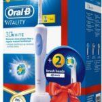 Szczoteczka elektryczna Braun Oral-B Vitality White D12.513W + EB18-2 instrukcja obsługi