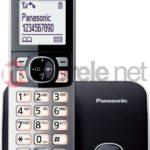 Telefon bezprzewodowy Panasonic KX-TG6811PDB Czarny instrukcja obsługi