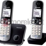 Telefon bezprzewodowy Panasonic KX-TG6812PDB instrukcja obsługi