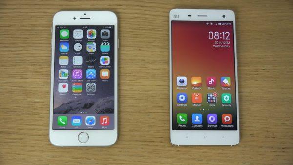Xiaomi Mi 6 czy iPhone 8