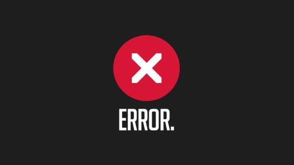 błąd aplikacji 0xc00000e5