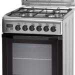 Kuchnia gazowo-elektryczna Indesit I5GMH5AG(X)U Inox instrukcja obsługi