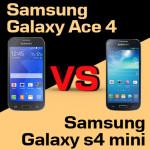 Jaki smartfon wybrać – Samsung Galaxy Ace 4 czy Galaxy S4 Mini?